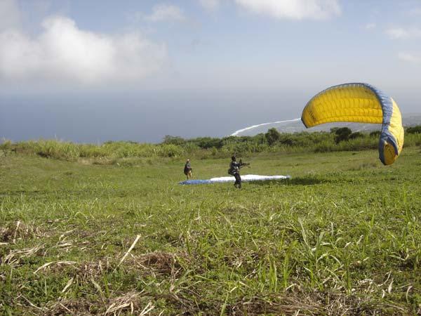 Stage et formation de parapente à la Réunion